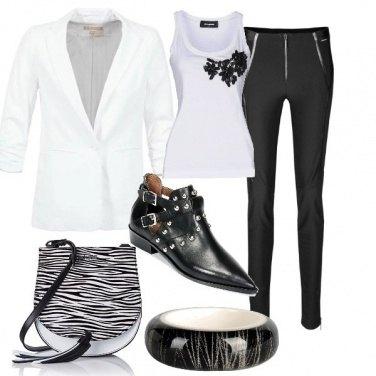 Outfit Zebrata