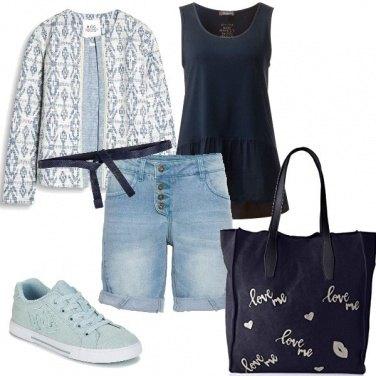 Outfit Casual per una giornata fuori casa