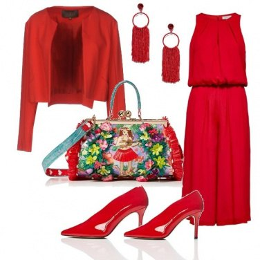 Outfit Tofly_red love