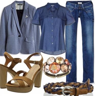 Outfit L\'eleganza del jeans