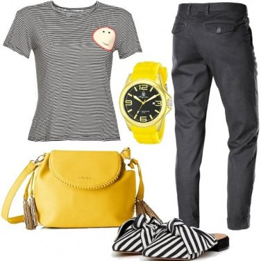 Outfit Righe al maschile