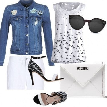 Outfit Casual e chic insieme