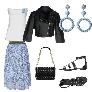 Outfit Aggressiva, ma romantica
