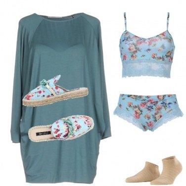 Outfit A letto come una ragazzina