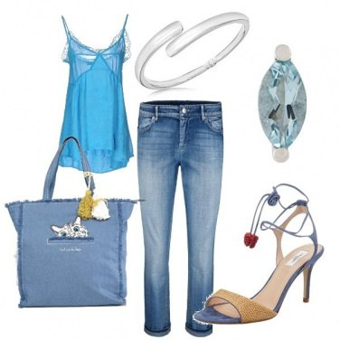 Outfit Jeans e canotta