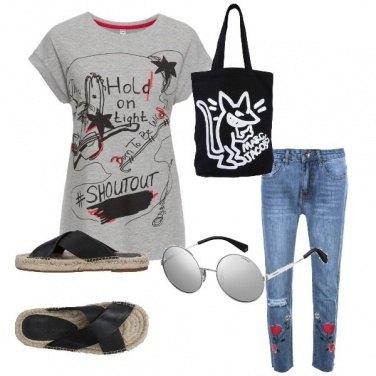 Outfit Estate scialla