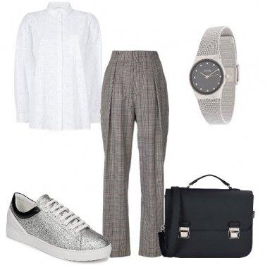 Outfit Mannish in ufficio