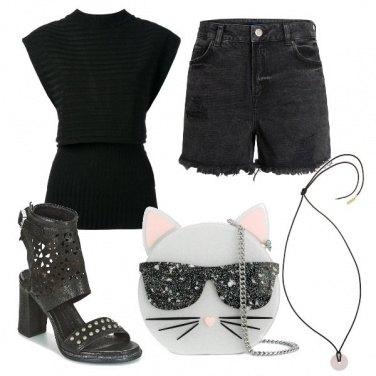 Outfit La borsa gatto