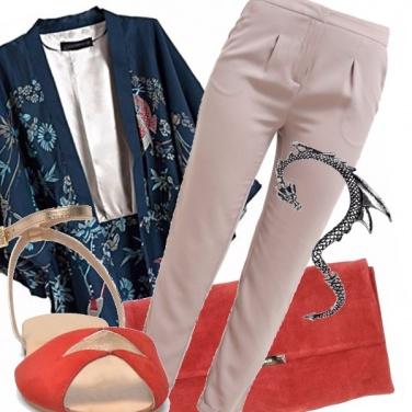 Outfit Sotto il segno del dragone
