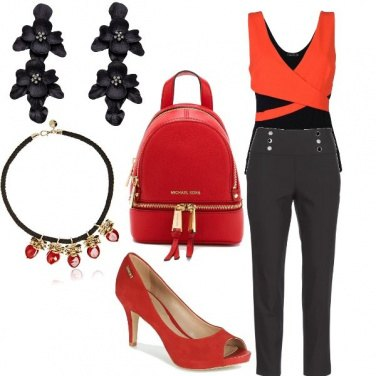 Outfit Fashion red