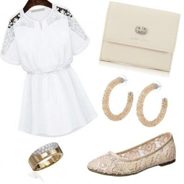Outfit Ballerine in pizzo