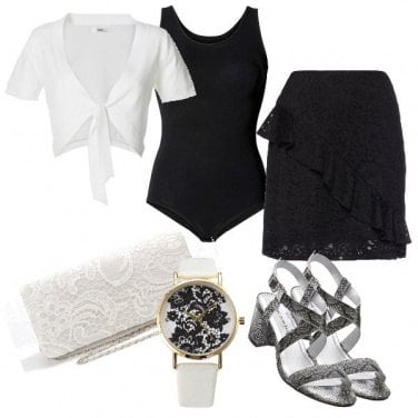 Outfit Pizzo protagonista