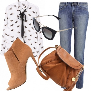Outfit Un look davvero glamour