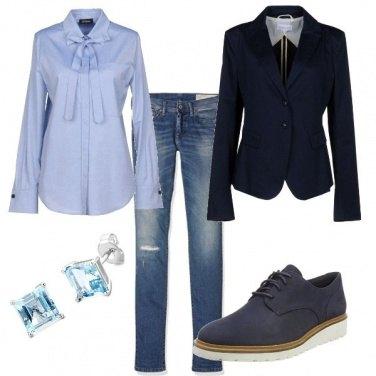 Outfit Giacca e mocassini