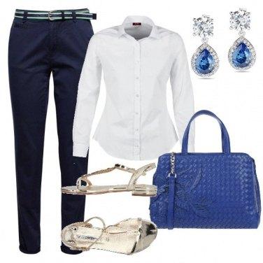 Outfit Maschile con il sandalo gioiello