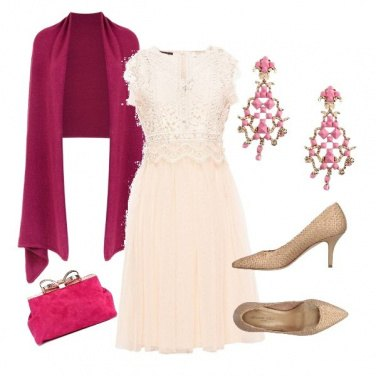 Outfit Soffio rosa
