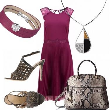 Outfit L\'abito plissè