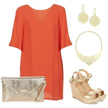Outfit Simply Golden