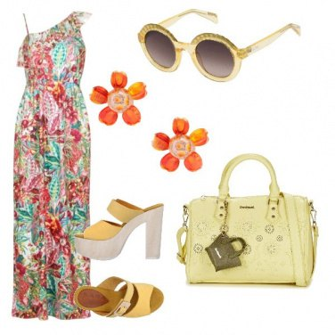 Outfit Etnico con stile