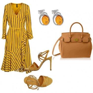 Outfit Ocra e giallo