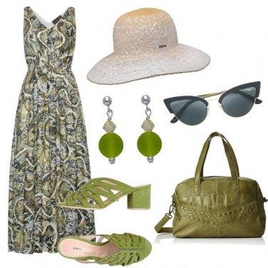 Outfit Tonalità oliva