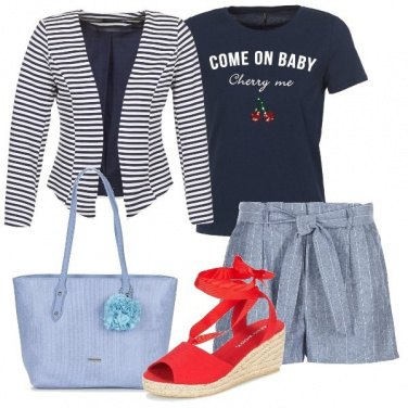 Outfit Mattinata di shopping