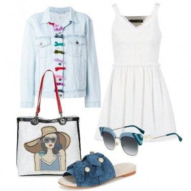 Outfit La ciabattina con perle