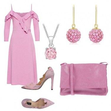 Outfit Rosa glicine bon ton