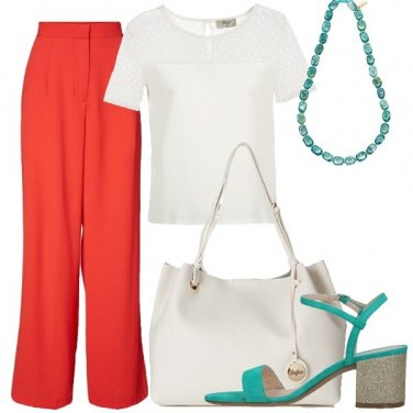 Outfit Dettagli acquamarina