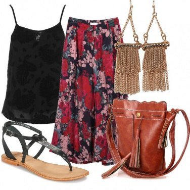 Outfit Una gipsy etnica