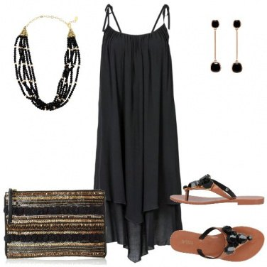 Outfit Etno Chic Black