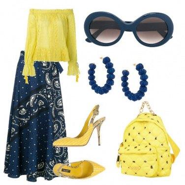 Outfit Lo zainetto elegante