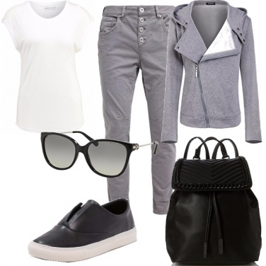 Outfit Sporty casual look