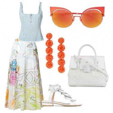 Outfit Succo d\'arancia sul lungolago