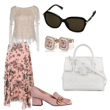 Outfit Il candore della borsa bianca