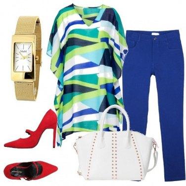 Outfit Geometrie e colore