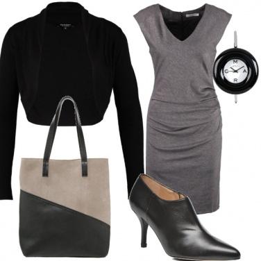 Outfit Grigio da ufficio