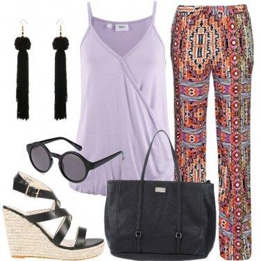 Outfit Pantalone tribale