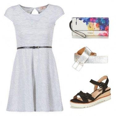 Outfit Un Total Look Solo da Spartoo