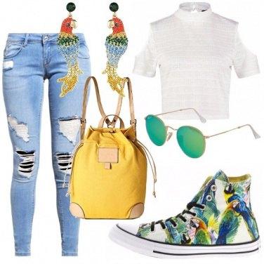 Outfit Palme e sole