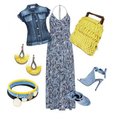 Outfit #Celeste e Sole