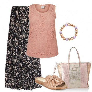 Outfit Gold \'n\' roses