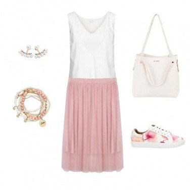 Outfit Easy Pink