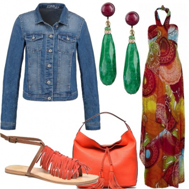 Outfit Gipsy e fiori