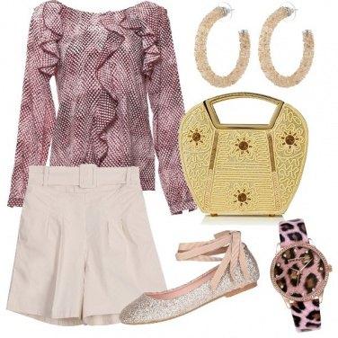 Outfit Glitter e oro