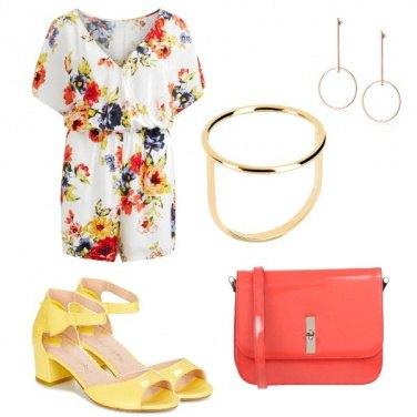 Outfit Tuta floreale