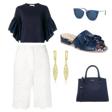 Outfit Glamour blue