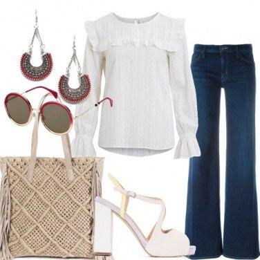 Outfit Etno con stile