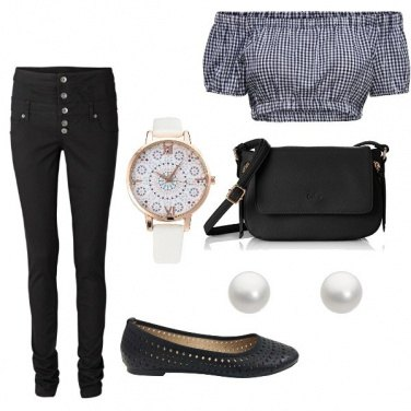 Outfit Perle bianche