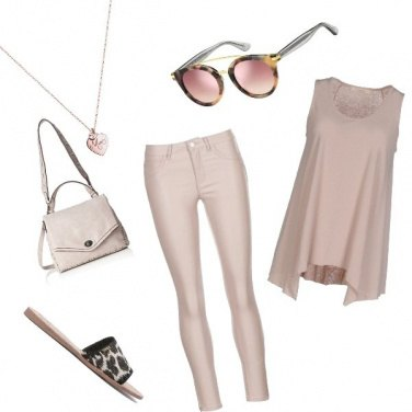 Outfit Rosa glam